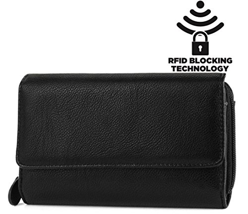 mundi-big-fat-womens-rfid-blocking-wallet-clutch-organizer-with-change-pocket-one-size-black