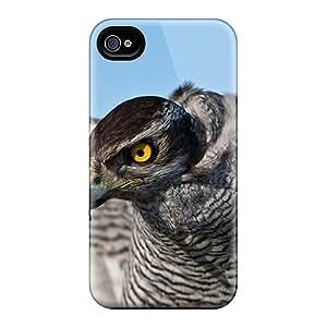 DavidLPenton Iphone 4/4s Hybrid Tpu Case Cover Silicon Bumper Animals Birds Hawk