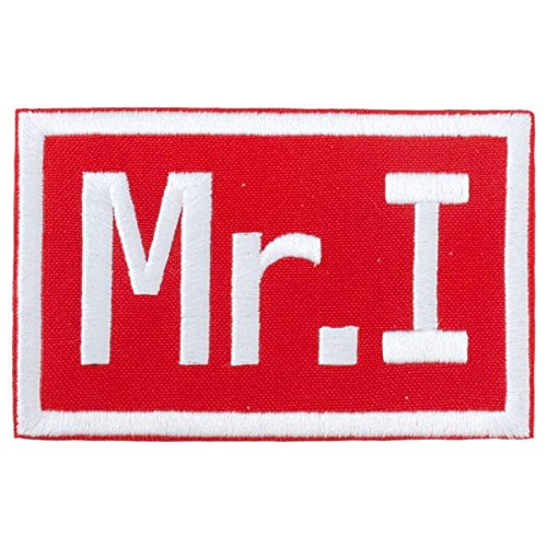 MR I MIKE ILITCH DETROIT RED COMMEMORATIVE MEMORIAL PATCH 2.75 x 4.5 INCHES RARE!