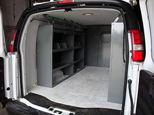 True Racks Van Shelving Storage System - Package 3 pc. Set for Full Size Van (Van Shelving Accessories)