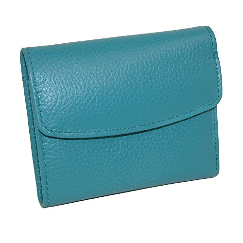 buxton-womens-leather-mini-tri-fold-wallet-teal