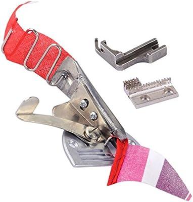 Bias Binder Foot cinta tamaño 28 mm accesorios partes ajuste para ...