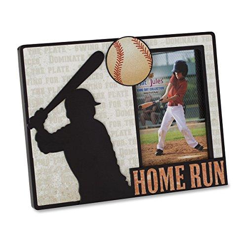 Nat and Jules Baseball Frame