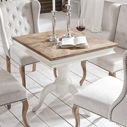 Mesa auxiliar mesa de comedor shabby chic Vintage French ...