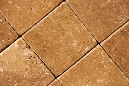 Noce 12X12 Travertine Tumbled Tile