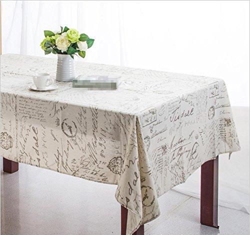 GFYWZ Manteles de algodón algodón algodón y Lino en manteles de Café, 140  140 1ccf90
