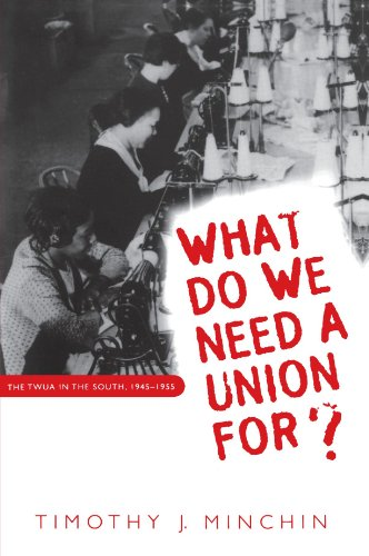 What Do We Need a Union For?: The TWUA in the South, 1945-1955 (Fred W. Morrison Series in Southern Studies)