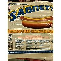 Sabrett Skinless Beef Frankfurters 48 Oz