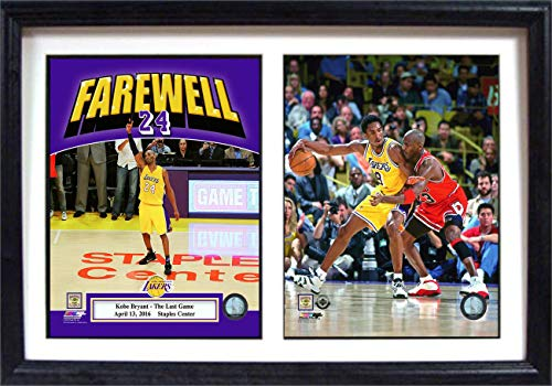 (Encore Select 122-14 NBA Los Angeles Lakers Kobe Bryant 2010 Lakers Champion Print, 12-Inch by 18-Inch)