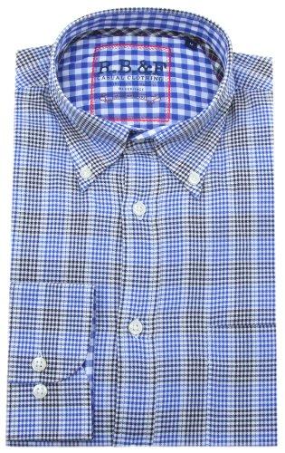 R.B. Boston -  Camicia Casual  - Con bottoni  - Maniche lunghe  - Uomo