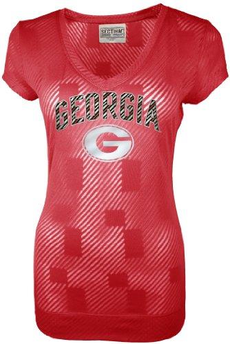 Georgia Bulldogs National Championship - NCAA Georgia Bulldogs Women's Championship Tunic Tee, Red, Medium