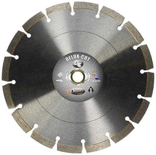 Diamond Blade Norton Norton (Diamond Products Core Cut 22820 9-Inch by 0.080 by 7/8-Inch Delux Cut Small Diameter Segmented Blade)