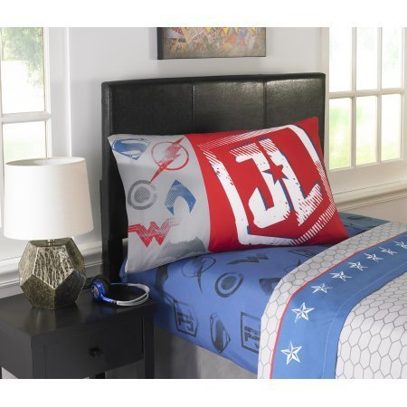 Justice League Movie 'Call for Justice' Kid's Full Bedding Sheet Set
