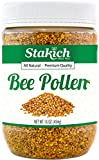 Stakich BEE POLLEN GRANULES 1 lb (16 oz) - 100% Pu...