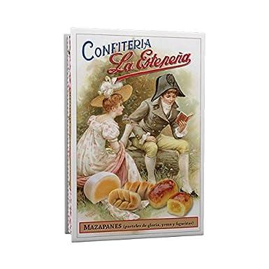 Mazapanes (pasteles de gloria, yema y figuritas) - La Estepeña - 330 Gr: Amazon.es: Alimentación y bebidas