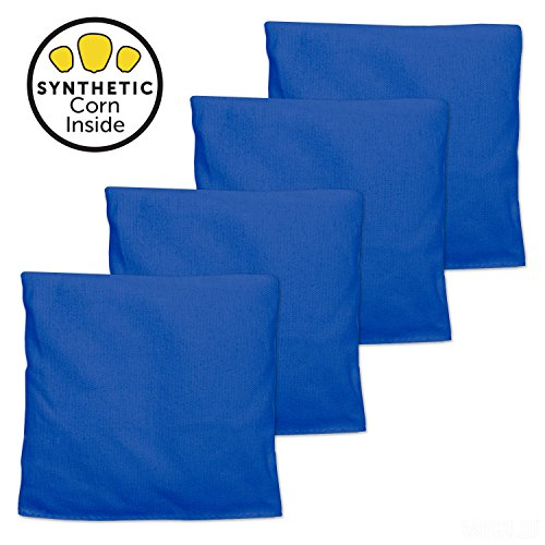 All Weather Cornhole Bags - Set of 4 Bean Bags for Corn Hole Game- (All Weather Bag)