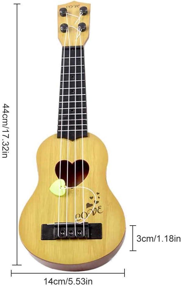 gouxia74534 Mini Fruit Guitarra Juguete para niños niños niña niño ...