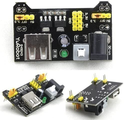 5V MB102 breadboard power supply module for the Arduino board provided Ecloud Shop/® 3 pieces 3.3V