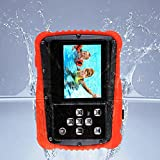 Kids Camera 12MP HD Children Underwater 3M Waterproof Action Camera Camcorder 2-Inch LCD, 4x Digital Zoom, Mic 9.9 ft Waterproof Digital Camera Birthday Holiday Gift Learn Camera