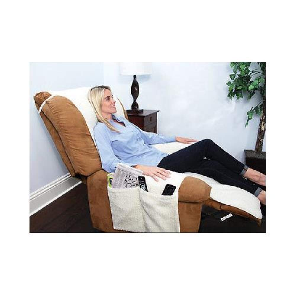 Snuggle Up (2 Pack) As Seen on TV Sobakawa The Most Comfortable Recliner Cover