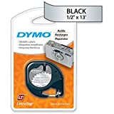 LABEL, DYMO LETRA TAG, SILVER Electronic Computer