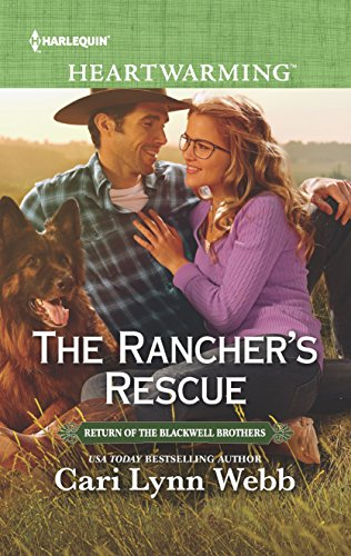 The Rancher's Rescue: A Clean Romance (Return of the Blackwell Brothers) -