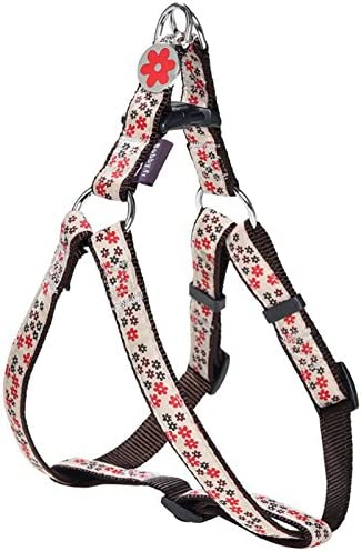 Bobby Flower Harnais Large pour Chien Rouge Taille S