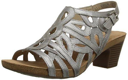 03 Silver Women Sandal - 4