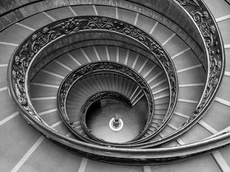 Fine Art Print – Escalera de Caracol en el Museo del Vaticano ...