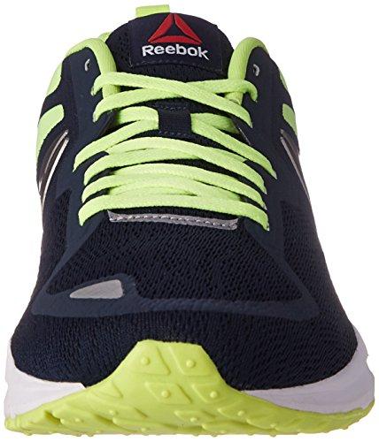 Reebok Hommes Une Distance 2.0 Chaussure De Course Collégiale Marine / Solaire Jaune / Étain / Blanc