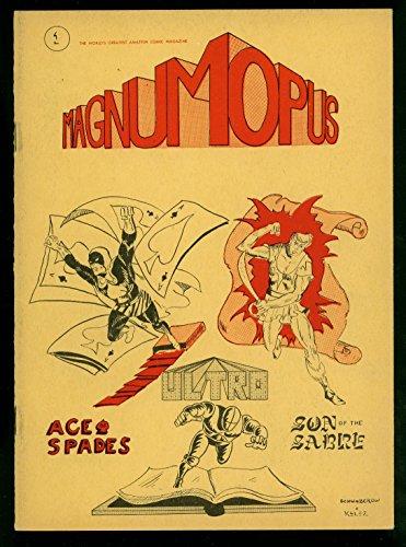 Magnum Opus Fanzine #1 1965- amateur comic fanzine- rare Steve Kelez