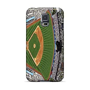 Casesbest88 Samsung Galaxy S5 High Quality Hard Cell-phone Case Unique Design HD Los Angeles Dodgers Skin [dsa1464mkLA]