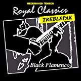 Royal Classics BF30T Black Flamenco Nylon Guitar String Treblepak, Medium-High Tension