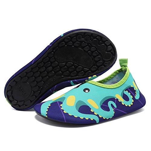 Cior Uomini Donne E Bambini Quick-dry Water Shoes Calze Aqua Leggere Per Polpo Da Spiaggia Beach Surf Yoga Esercizio
