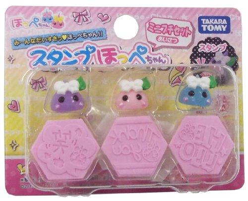 Mini Petit set greeting stamp cheeks Chan (japan import)