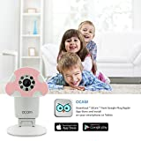 OCam-M1 Wi-Fi Wireless Baby Monitor Security Video Camera & Nanny Cam DVR iPhone iPad iOS Android(Pink)