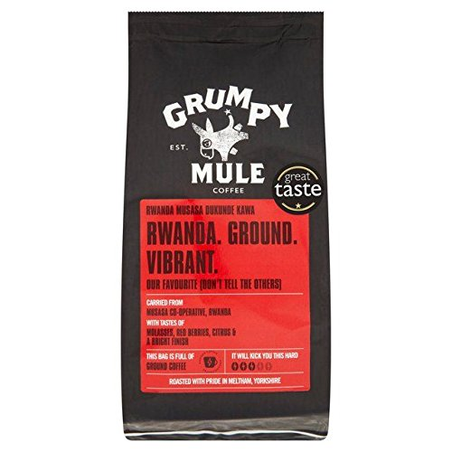 Grumpy Mule Rwanda Musasa Ground Coffee - 227g