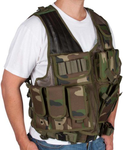 Adjustable Tactical Military and Hunting Vest By Modern Warrior ()