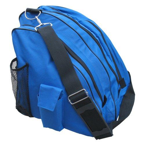 A&R Sports Deluxe Skate Bag, Royal (Roller Skate Backpack)