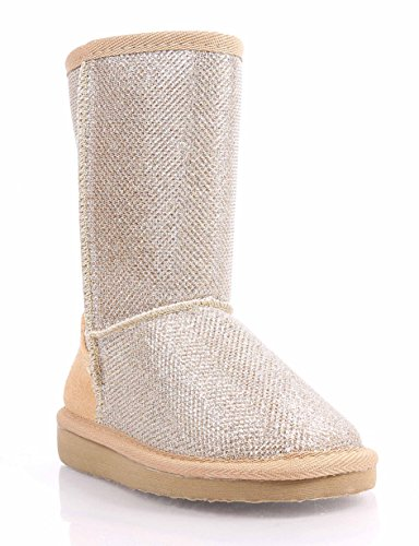 fashion-sparkling-kids-shoes-slip-on-girls-youth-faux-fur-interior-winter-snow-boots-new-without-box