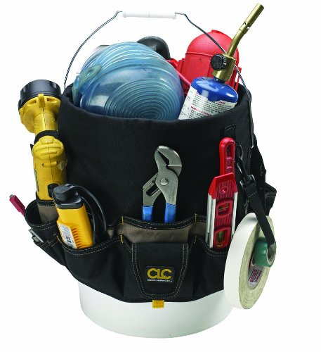 CLC Custom Leathercraft 1119 Bucket Caddy Organizer, 48 Pocket 517sxk77rdL
