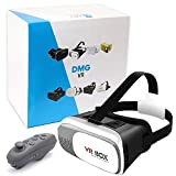 Dmg Vr Box 2Nd Virtual Reality 3D Glasses +Remote Controller For 4'-6' Ios Android Smartphones Iphone 7S/7 Plus/ 6/6Plus 5/5S Samsung Galaxy S6/Edge