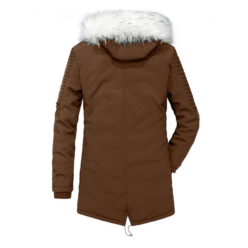 AKIMPE Mens Coats Mens Winter Jacket Men Coat Coats for Men