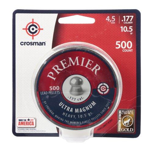 - Crosman Premier Domed Field Target 500 pellets in a tin. LUM77
