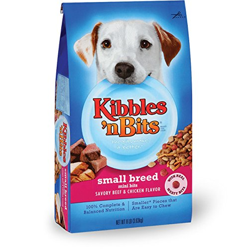 Specially Formulated for Your Small Dog Show your small-breed dog how much you care with a meal made especially for him. Kibbles 'n Bits Small Breed Mini Bits dry dog foods pack big taste into small-sized bits that are easy to chew.