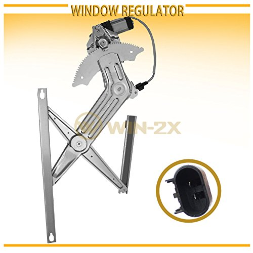 WIN-2X New 1pc Front Driver (Left) Side Power Window Regulator & Motor Assembly Fit 02-08 Dodge Ram 1500 03-09 Ram 2500/3500 10-12 Ram 3500 Cab & Chassis 08-12 Ram 4500/5500 Cab & Chassis (Dodge Ram 3500 Cab Chassis)