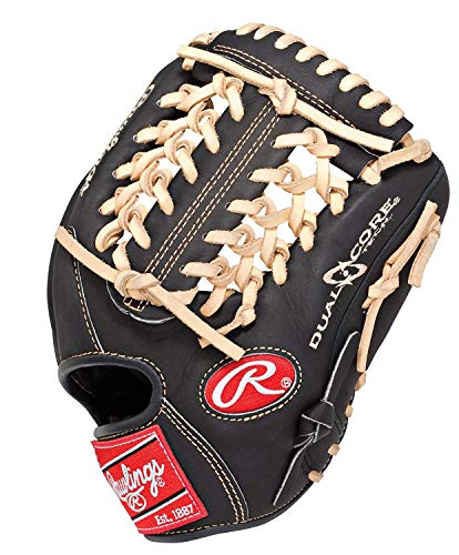 Rawlings Heart of the Hide Dual Core 11.5-inch Infield Baseball Glove, Left-Hand Throw (PRO204DCC)