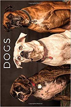 Dogs: Animal Notebook For Kids, Notebook For Coloring Drawing And Writing (110 Pages, Unlined, 6 X 9) PDF Descargar