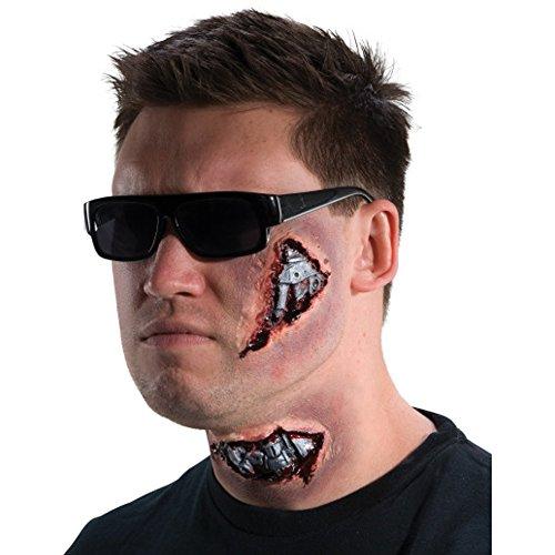 MyPartyShirt I'll Be Back Cyborg Latex Makeup -