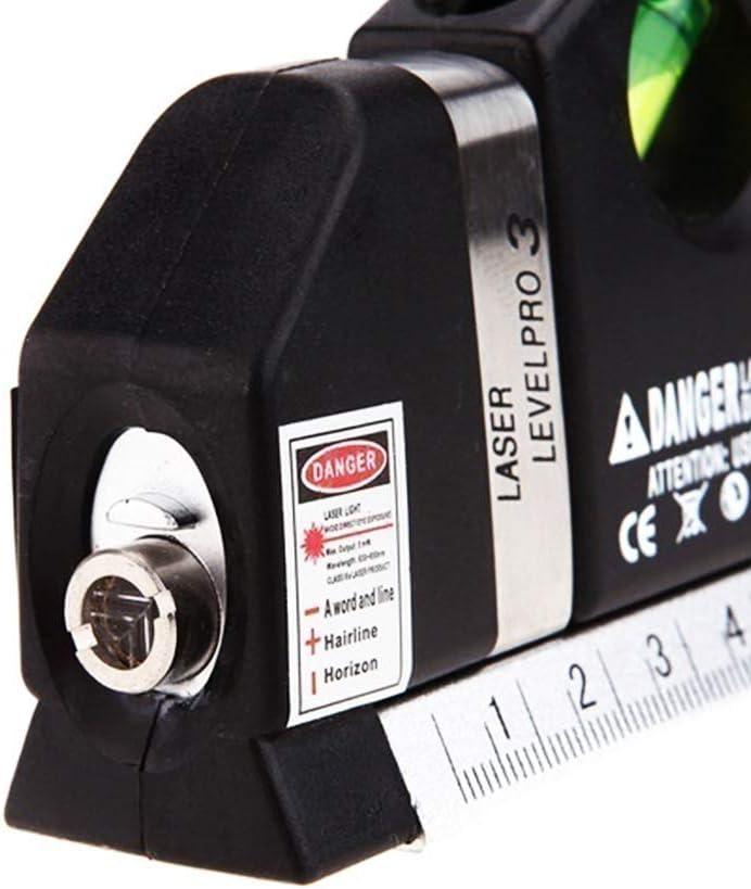Niveau laser professionnel 3 lignes horizontales verticales 5,5 m